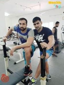 Kabaddi Player Rahul Chaudhari: Fitness | Workout routine | Diet Plan | Gym