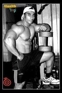 Bodybuilder Sangram Chougule workout routine and diet plan