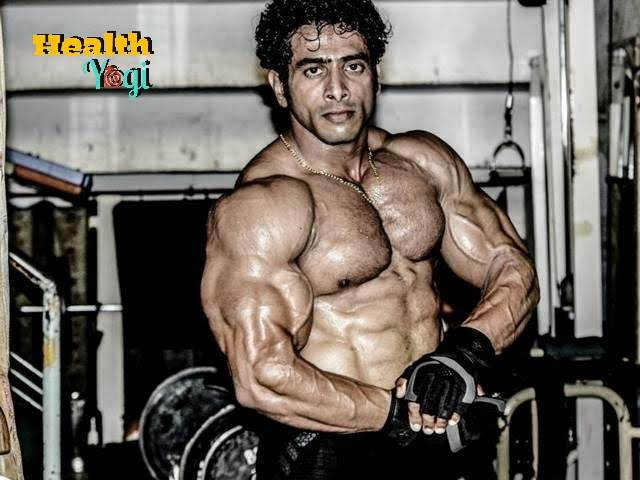 Bodybuilder Suhas Khamkar Workout routine HD Photo