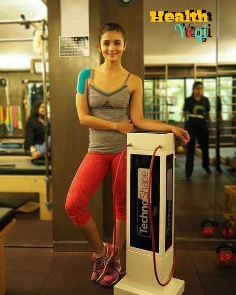 Alia Bhatt workout routine and diet plan