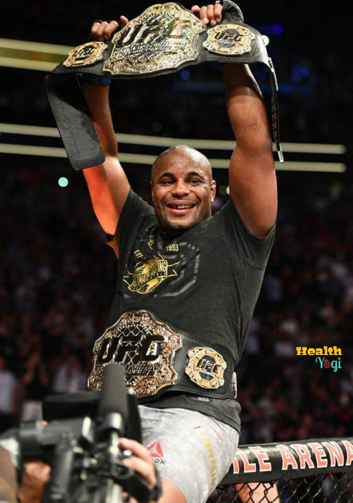 UFC Champion Daniel Cormier Diet Plan