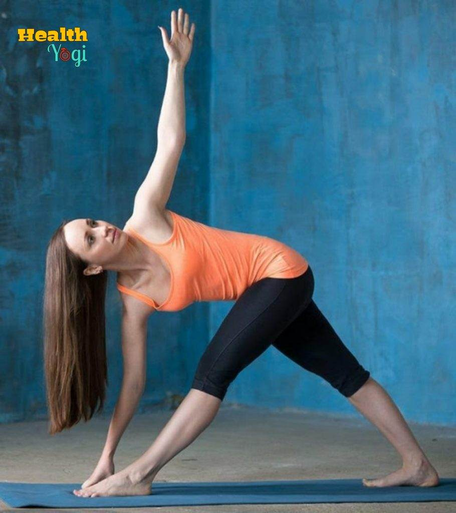 TRIKONASANA: Best Yoga Poses To Lose Weight in 10 Days