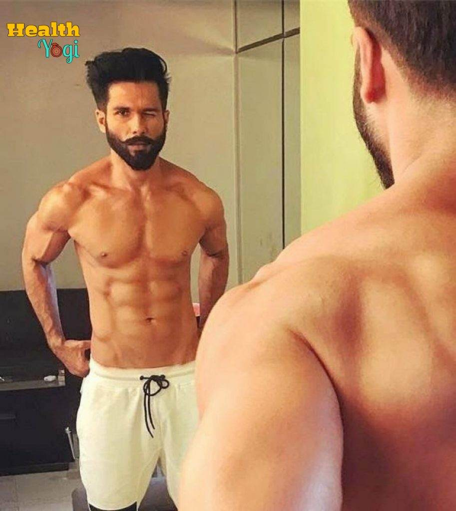 Shahid kapoor fitness regime, diet plan and workout routine