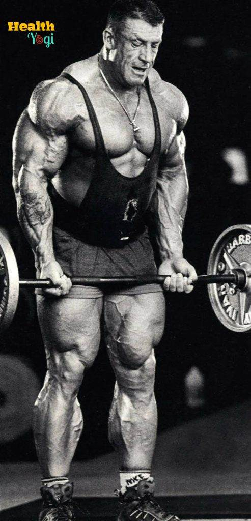 Dorian Yates abs chest biceps triceps, legs back HD Photo