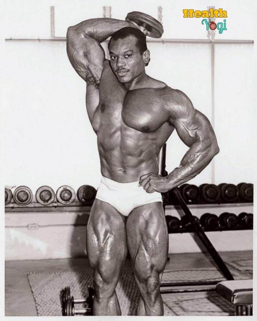 Sergio Oliva gym