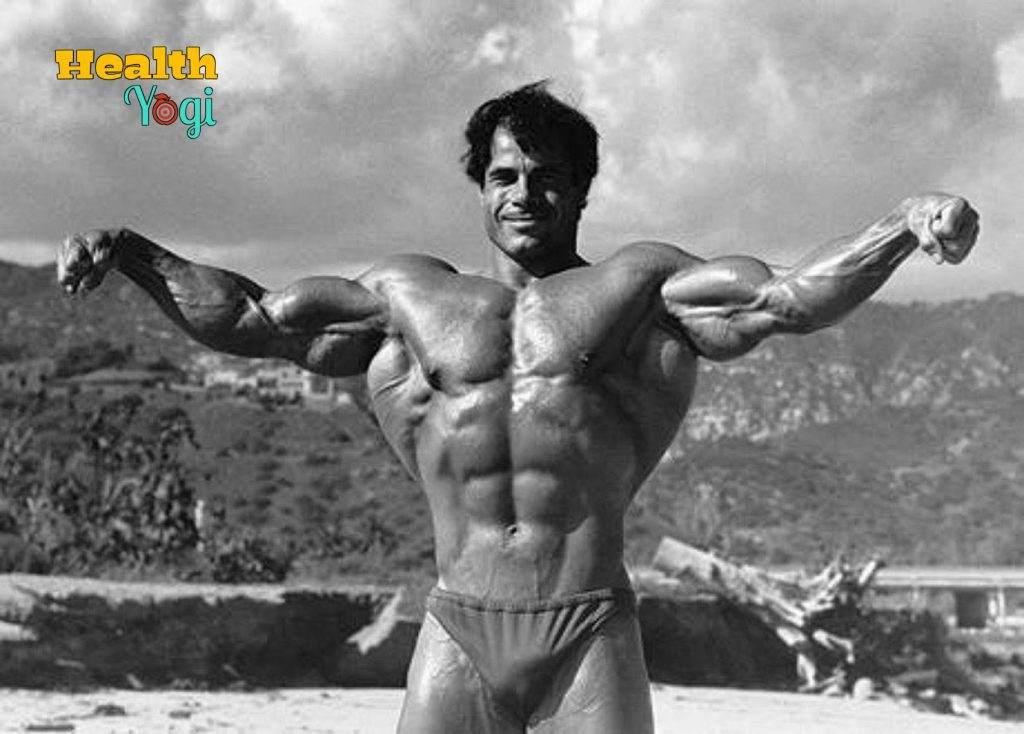Franco Columbu biceps chest triceps back shoulder fitness HD Photo