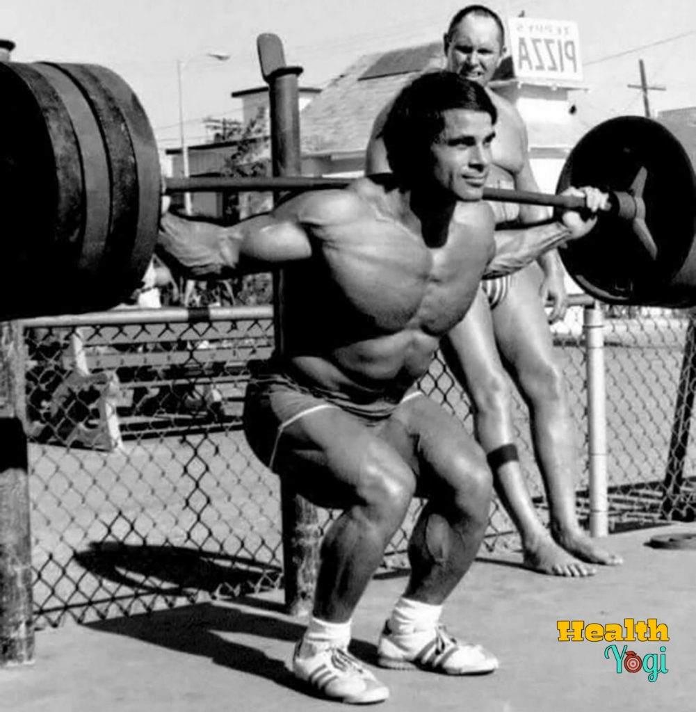 Franco Columbu workout routine