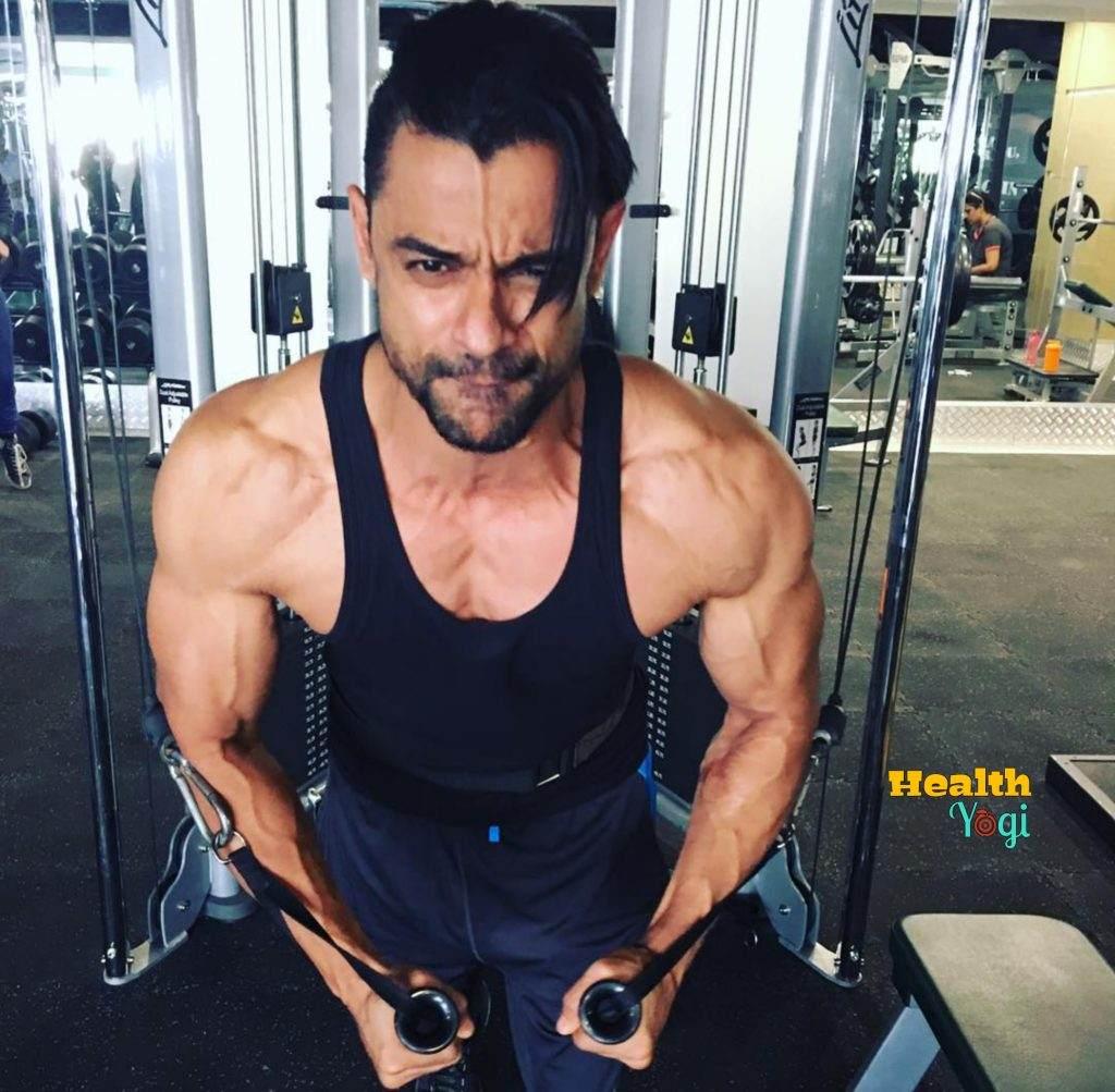 Bishnu Adhikari Chest workout