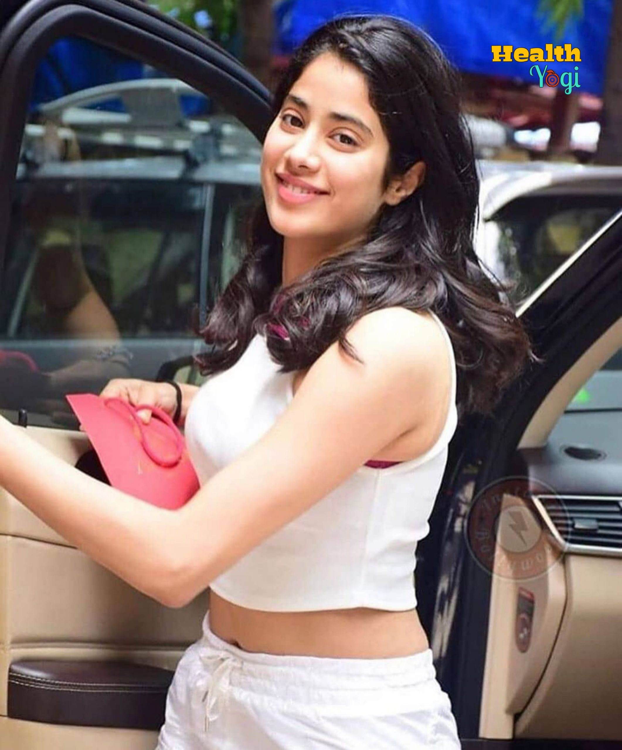 Jhanvi Kapoor Weight Loss Diet And Workout Plan