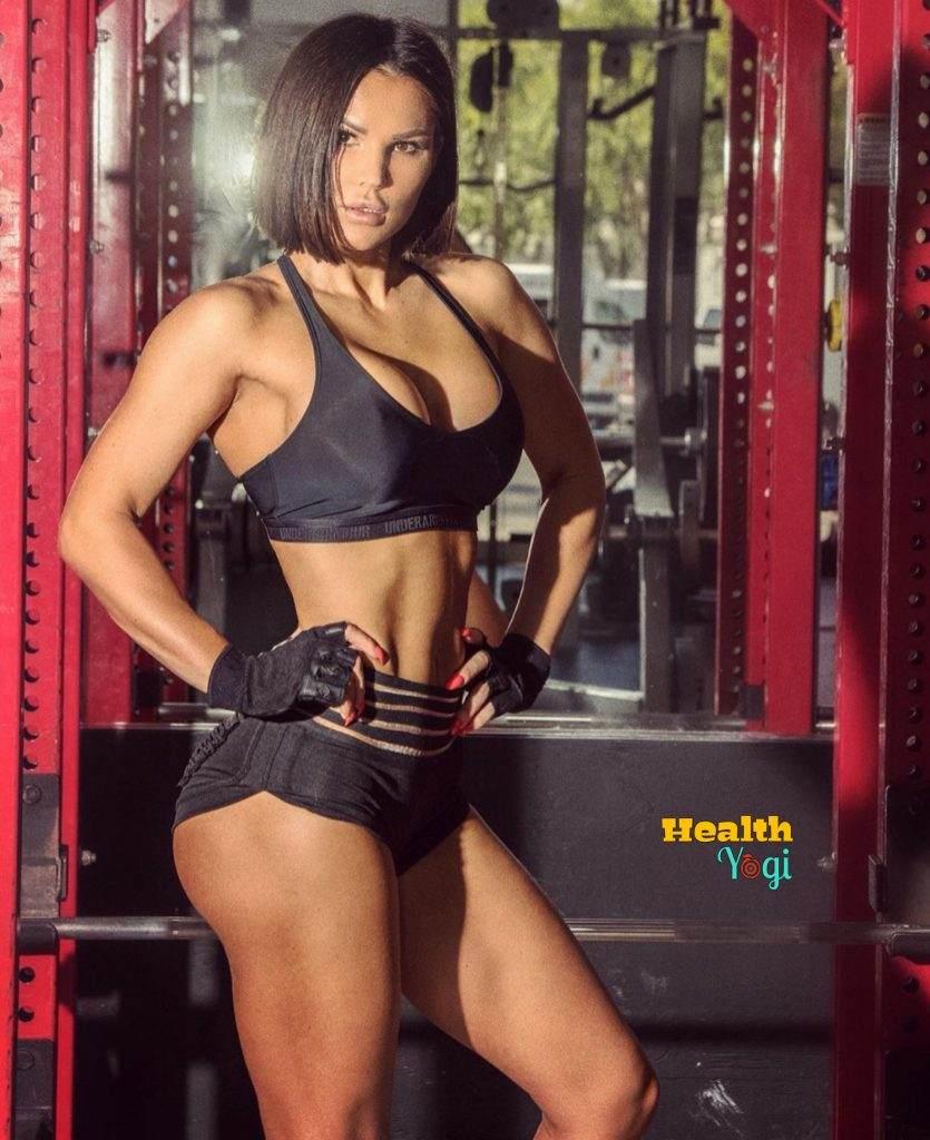 Julia Gilas workout routine