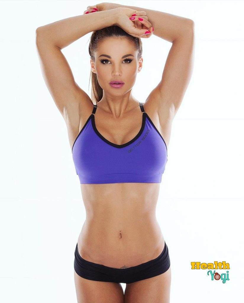 Julia Gilas exercise routine