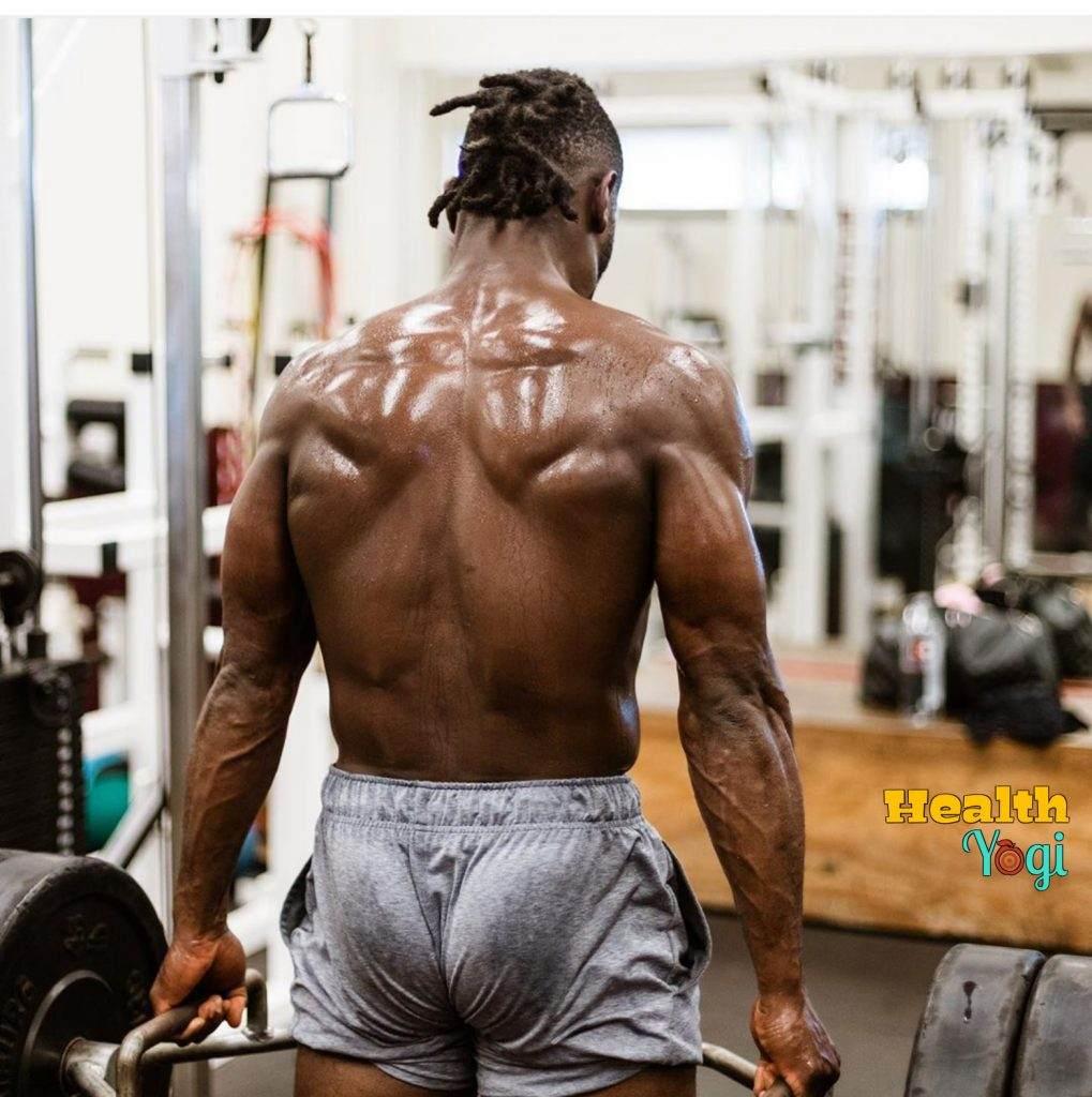 Antonio Brown Diet Plan for Back