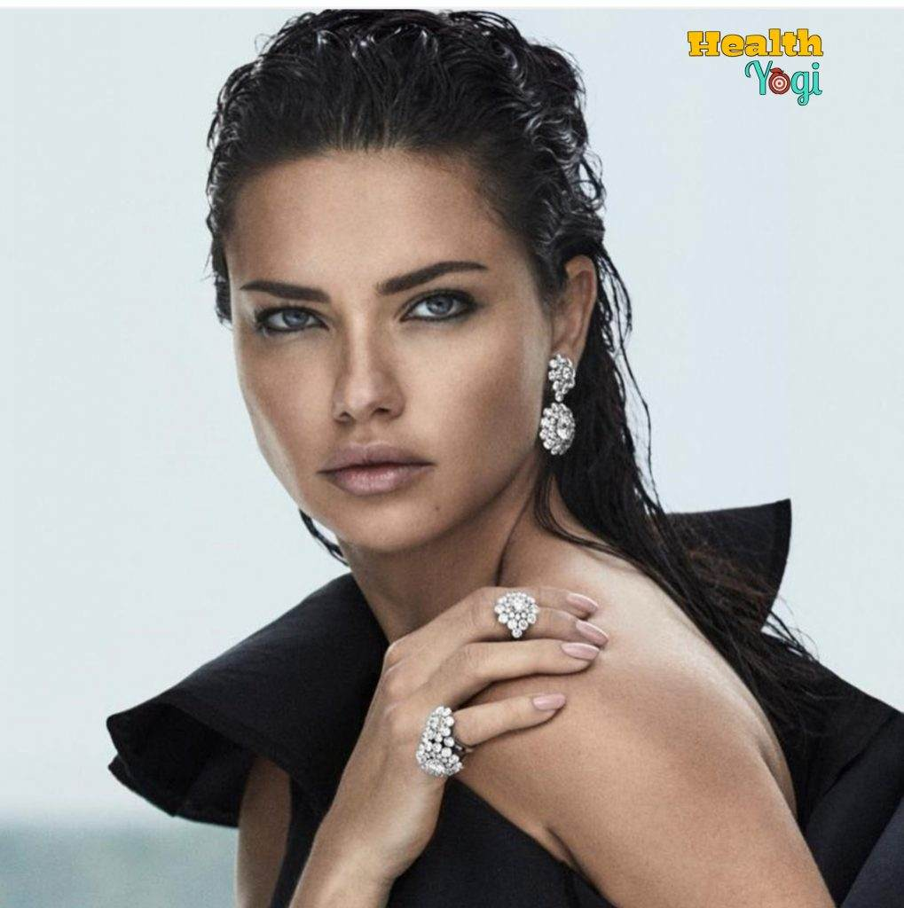 Adriana Lima Diet Plan and Workout Routine
