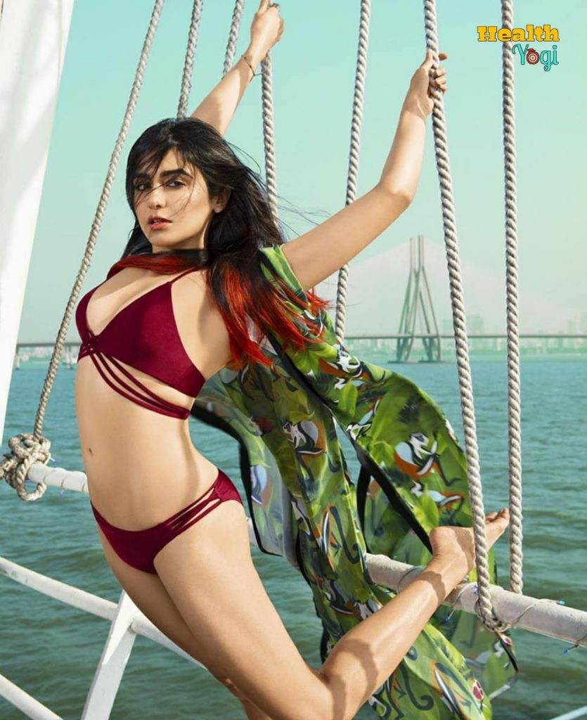 Adah Sharma Exercise