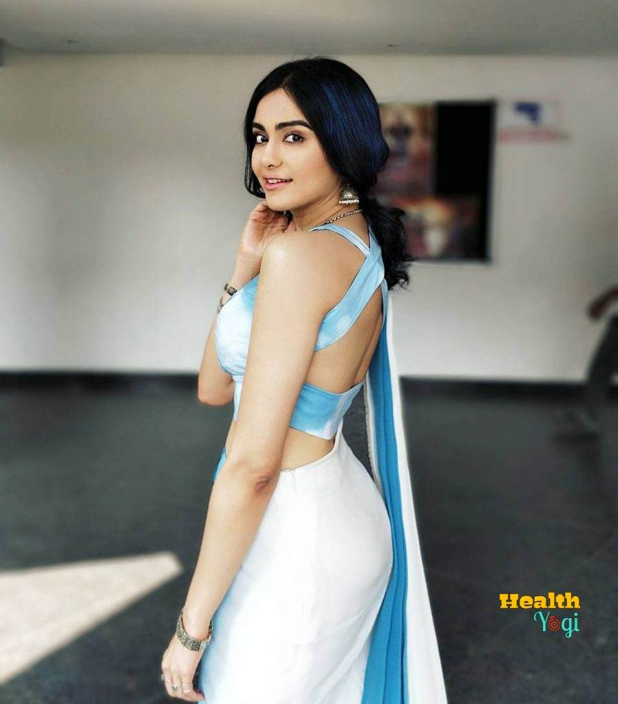 Beautiful Adah Sharma Hair care