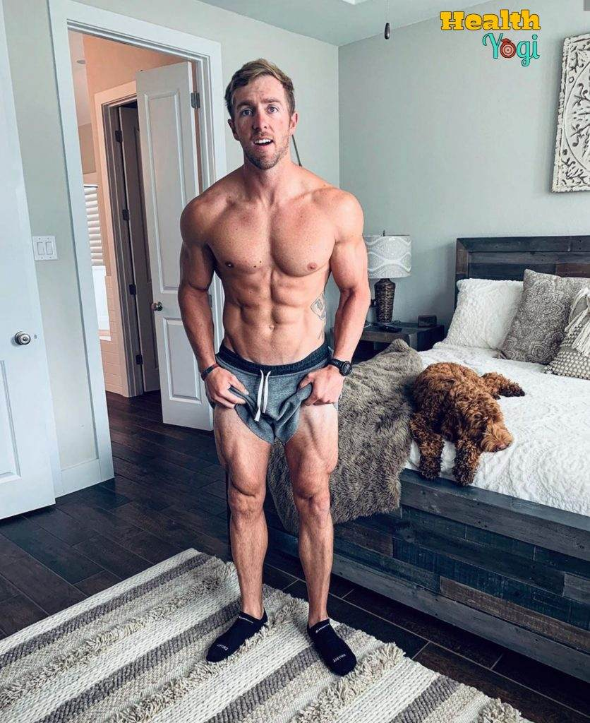 Nick Bare Legs workout HD Photo