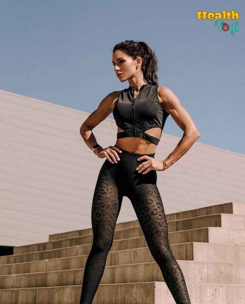 Alexia Clark fitness regime
