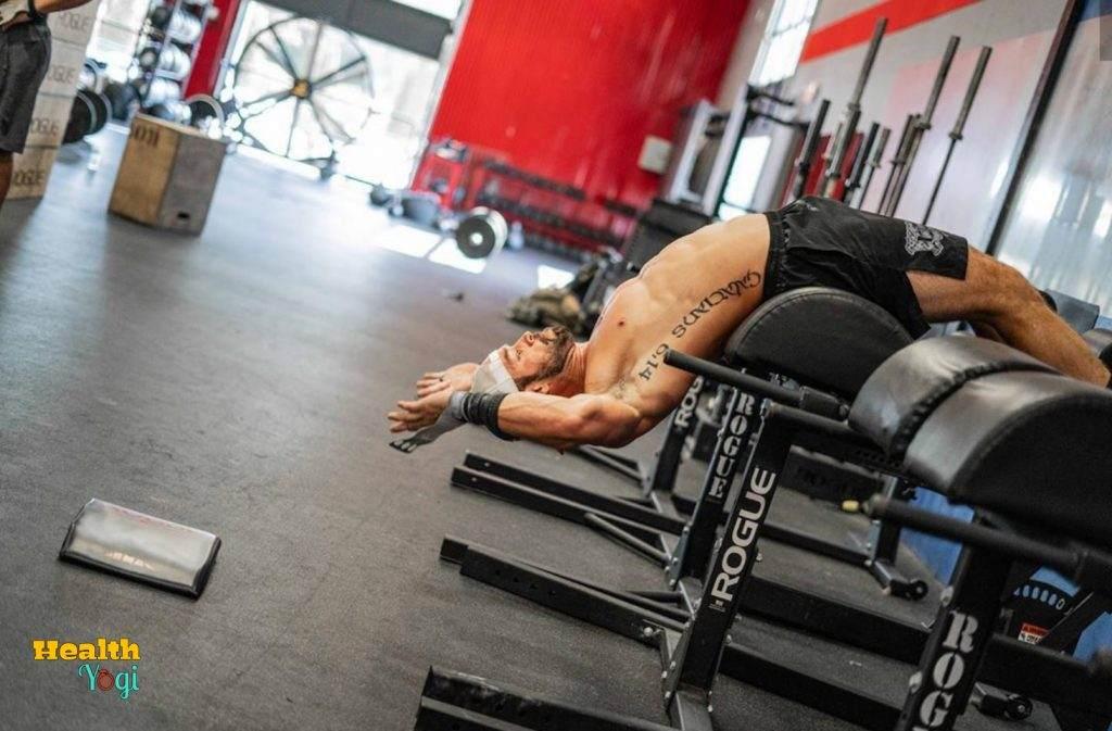 Rich Froning Jr Gym Workout