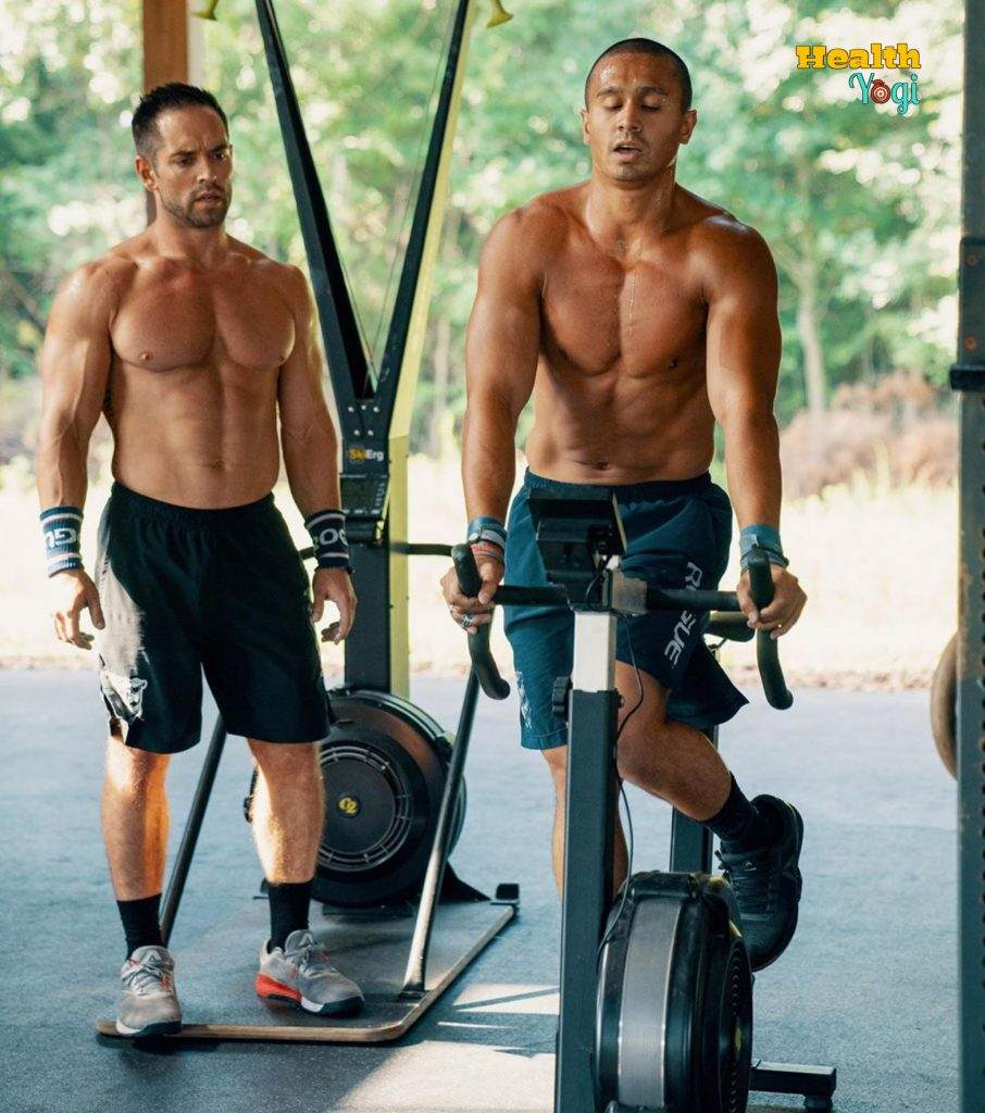 Rich Froning training