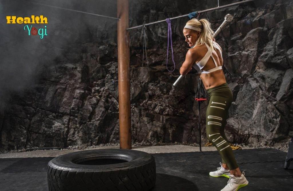 Sara Sigmundsdottir Workout Photo