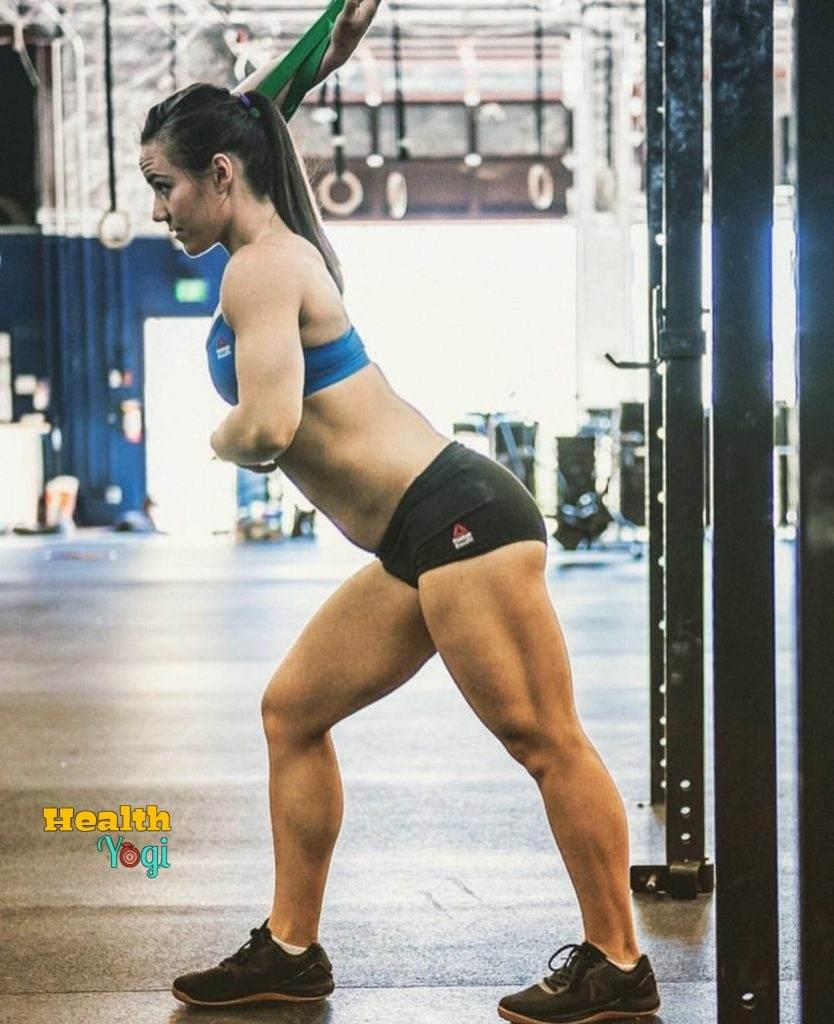Camille Leblanc-Bazinet CrossFit Exercise