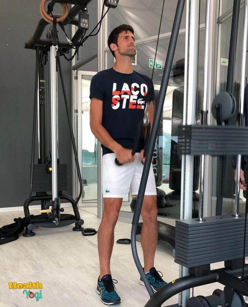 Novak Djokovic Workout Routine