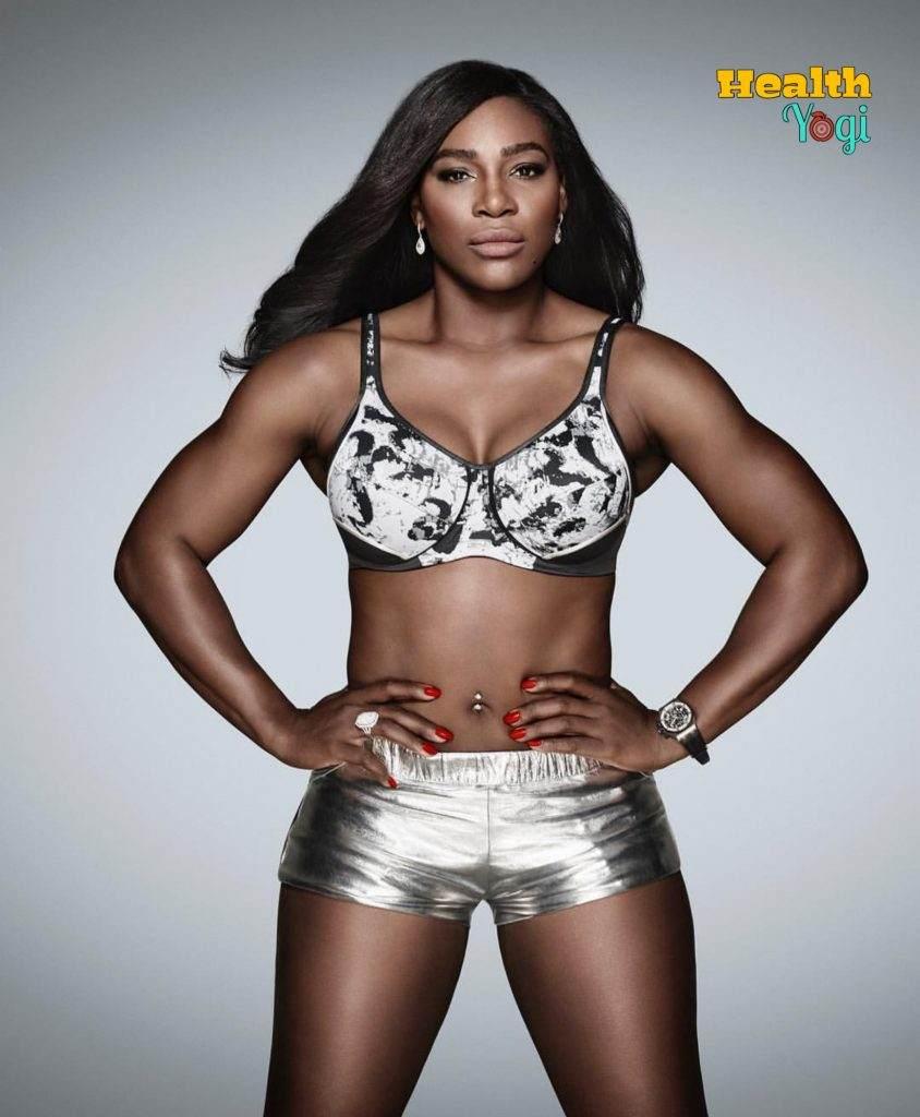 Serena Williams Workout Routine and Diet Plan