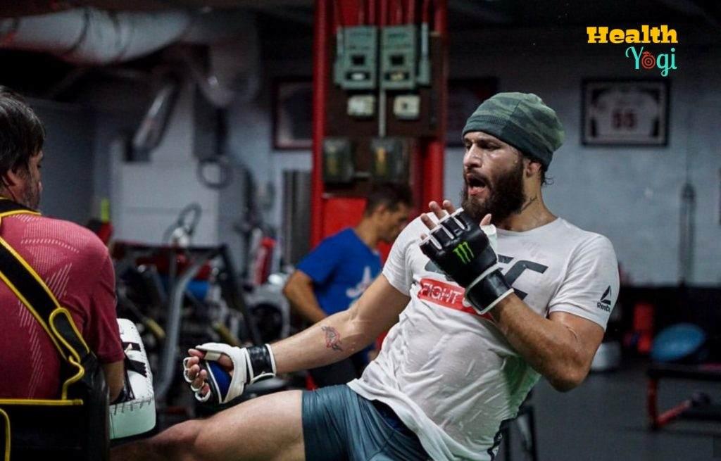 Jorge Masvidal Workout Routine