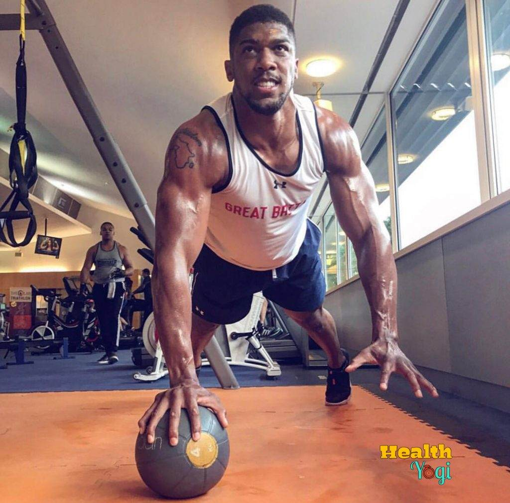 Anthony Joshua Workout Routine