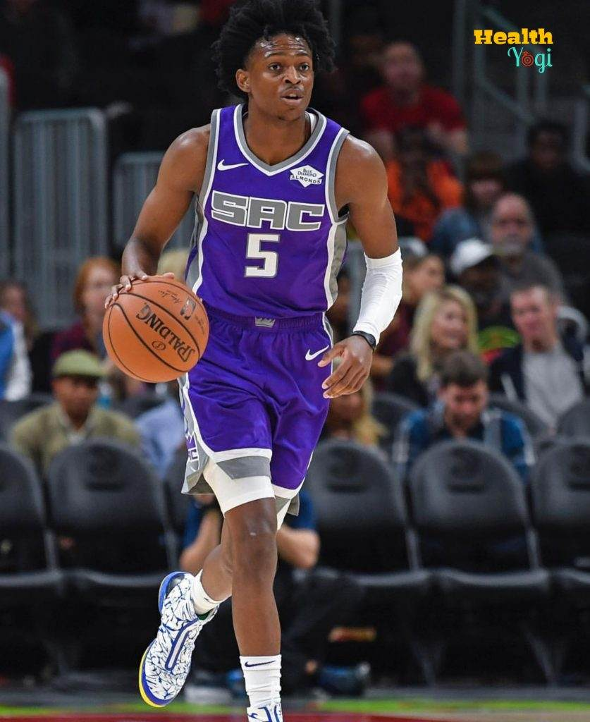 De'Aaron Fox game photo