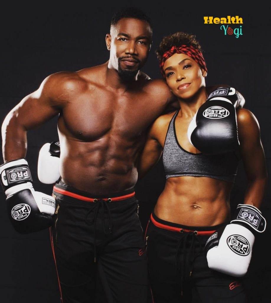 Michael Jai White with his wife Gillian Iliana Waters