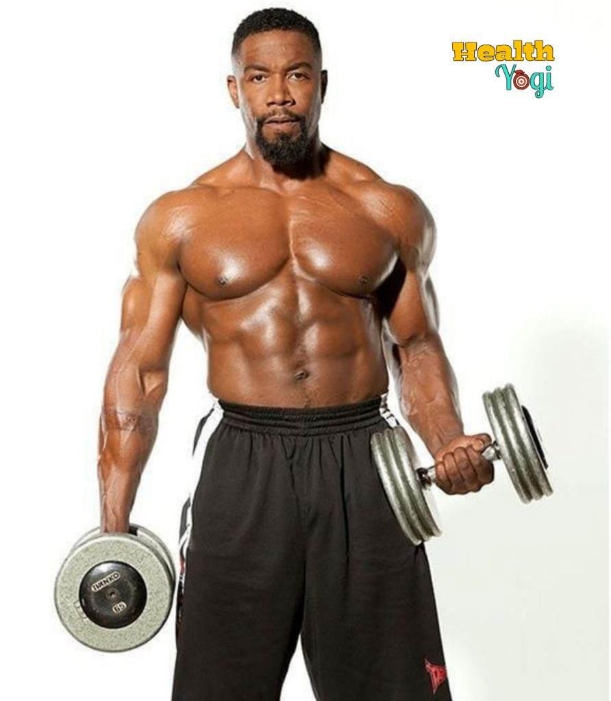 Michael Jai White bodybuilding