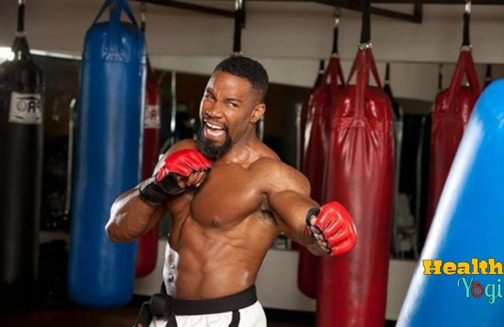 Michael Jai White boxing