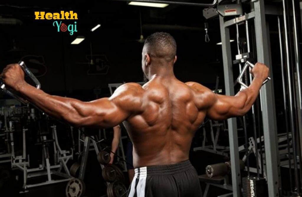 Michael Jai White Back workout