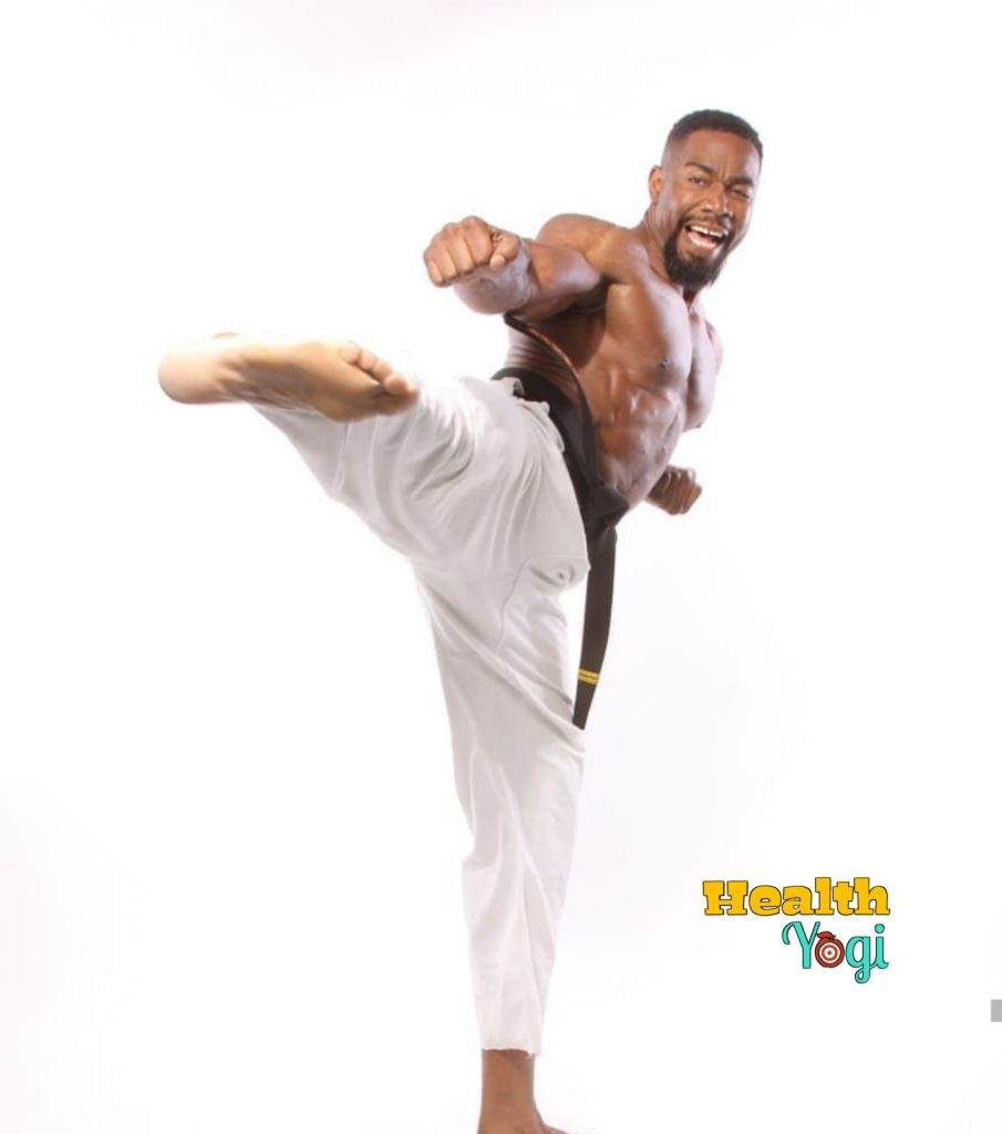 Michael Jai White Workout HD Photo
