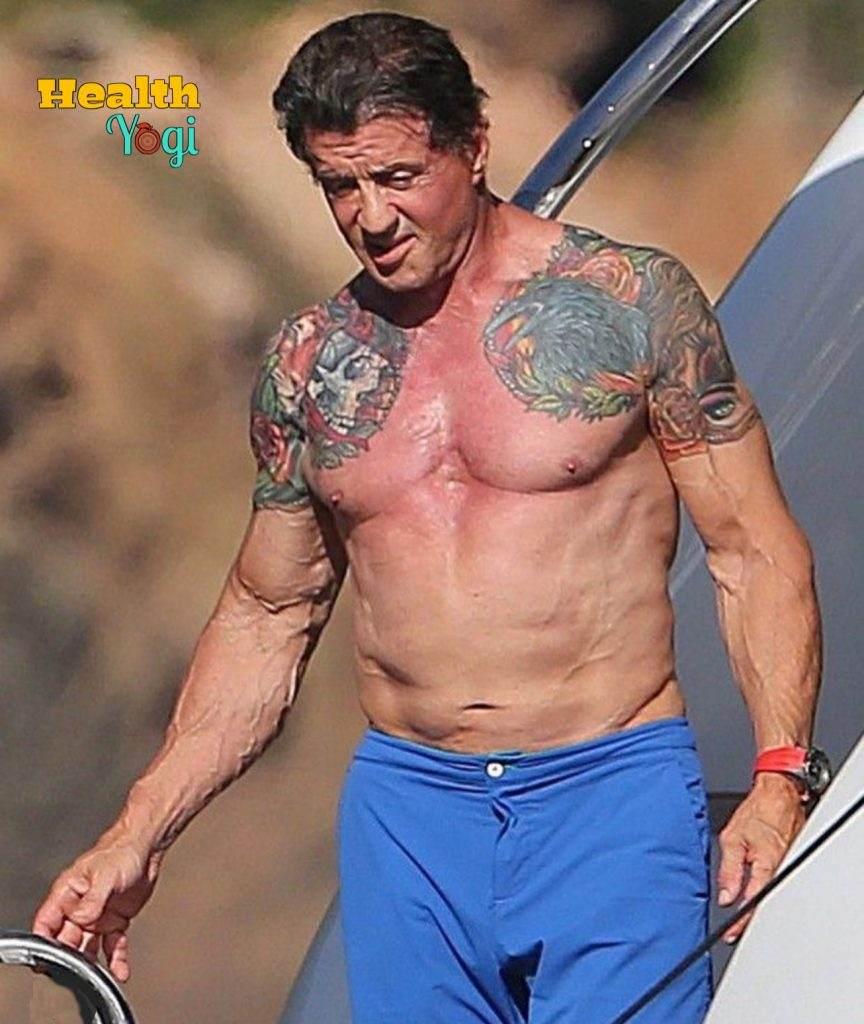 Sylvester Stallone fitness