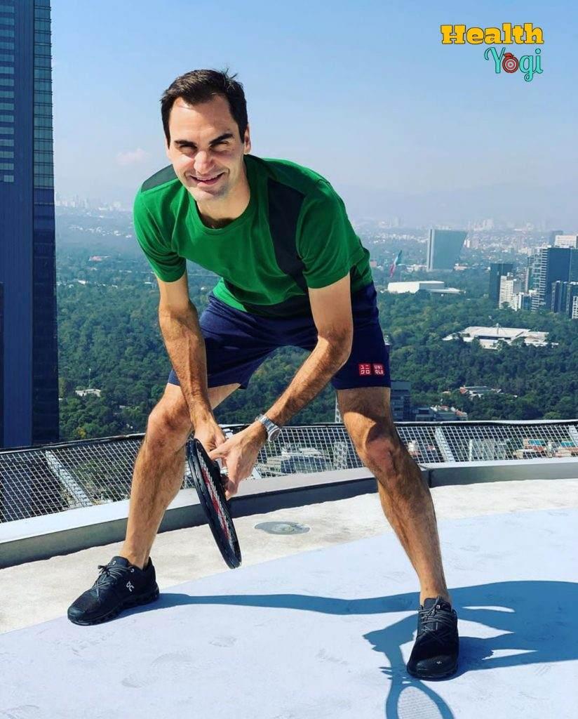 Roger Federer exercise