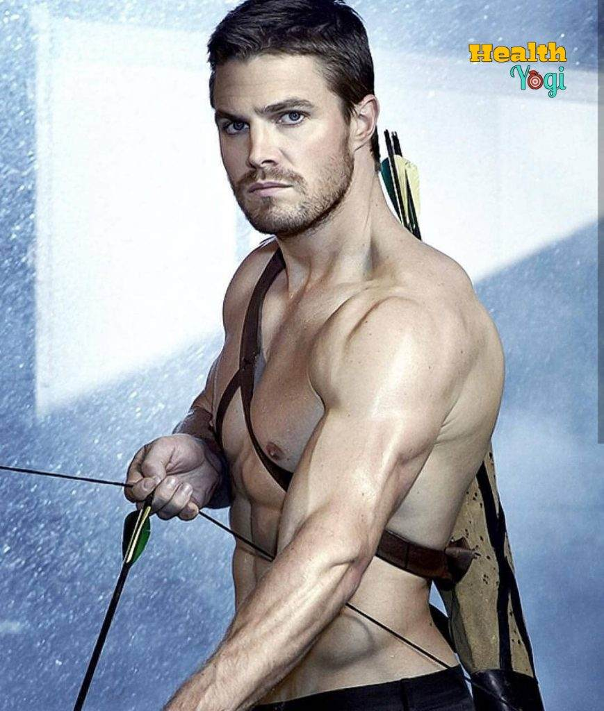 Stephen Amell Exercise Routine and Meal Plan
