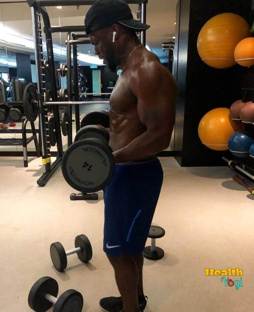Kevin Hart Biceps workout