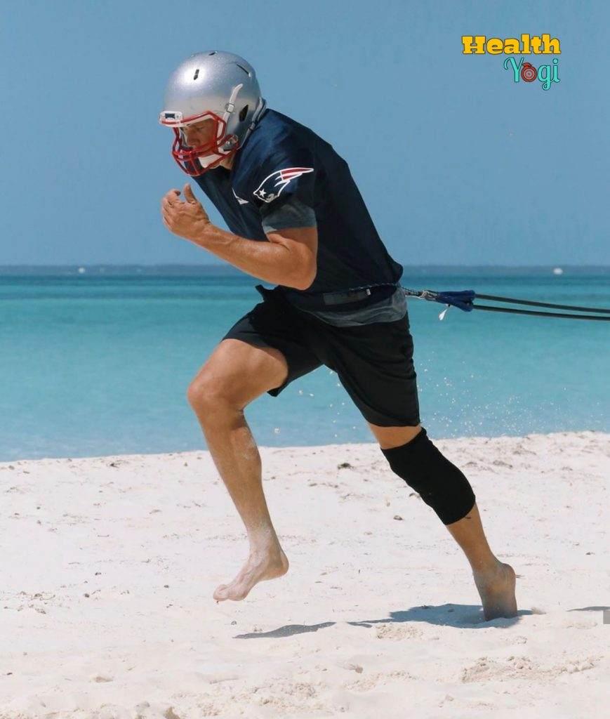 Tom Brady running