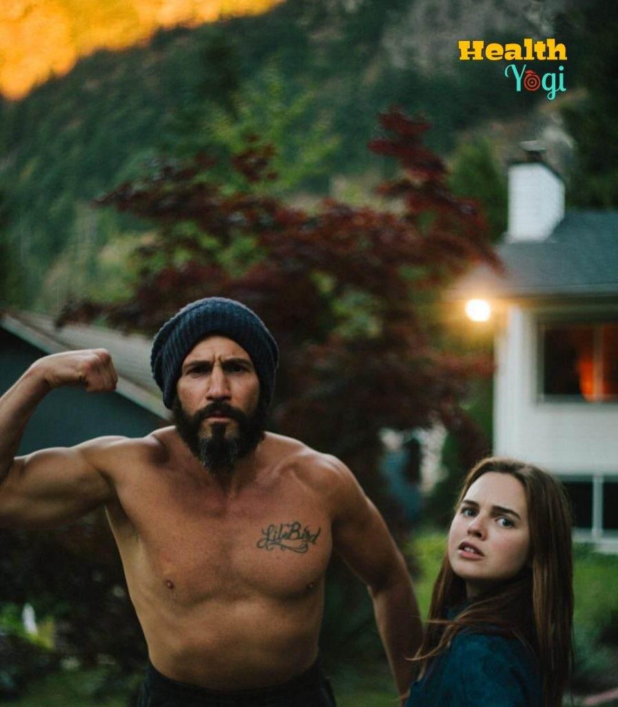 Jon Bernthal Showing his biceps