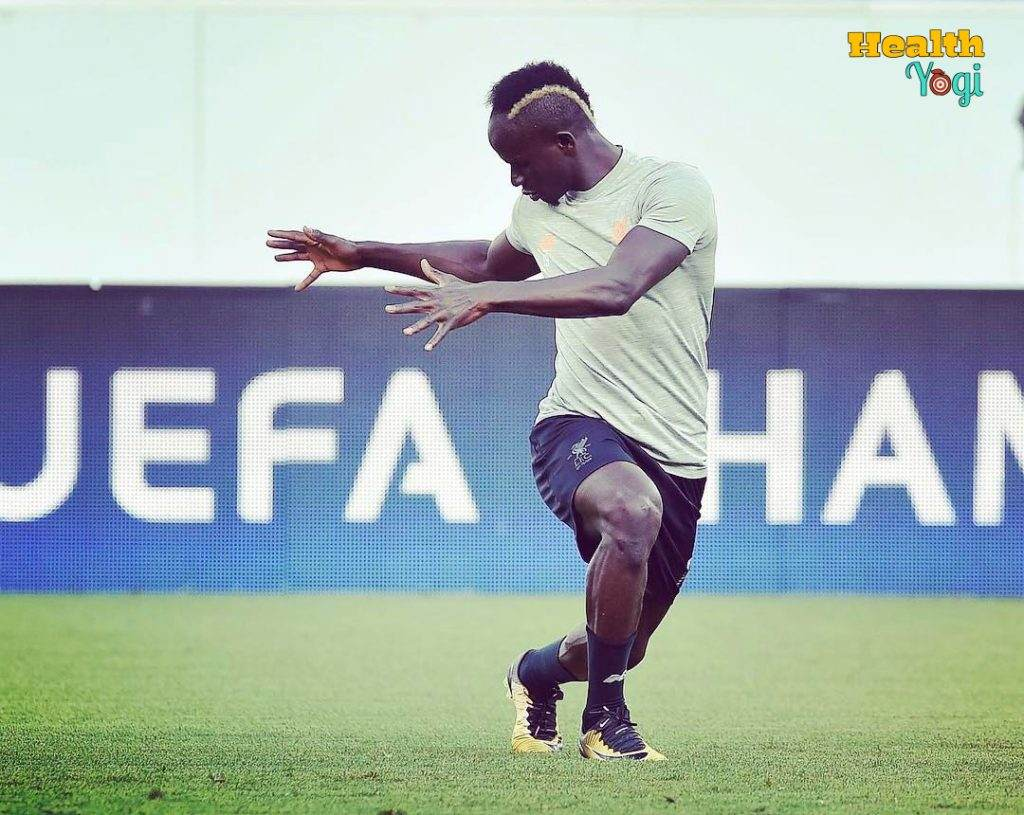 Sadio Mane Workout