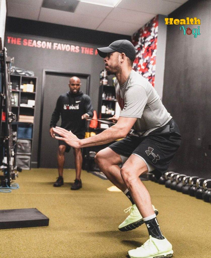 Seth Curry Fitness