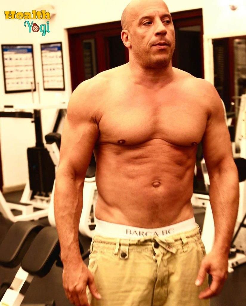 Vin DieselWorkout Routine and Diet Plan