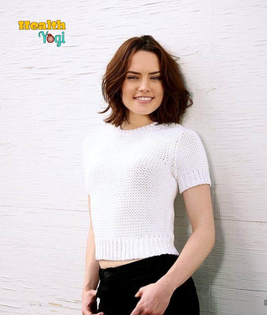 Daisy Ridley Workout Routine and Diet Plan