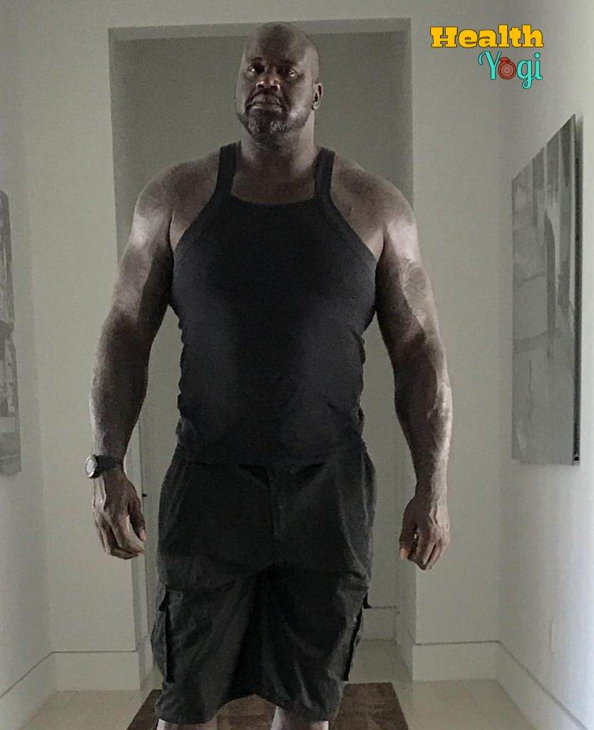 Shaquille O'Neal Workout Routine and Diet Plan