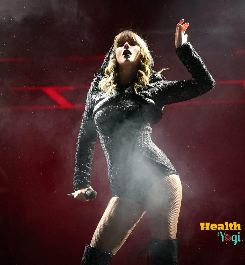 Taylor Swift Diet Plan