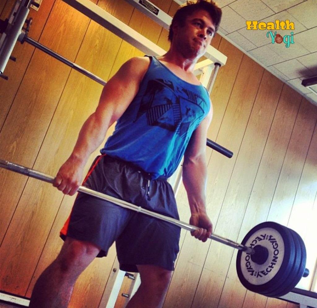 Luke Hemsworth Workout Routine