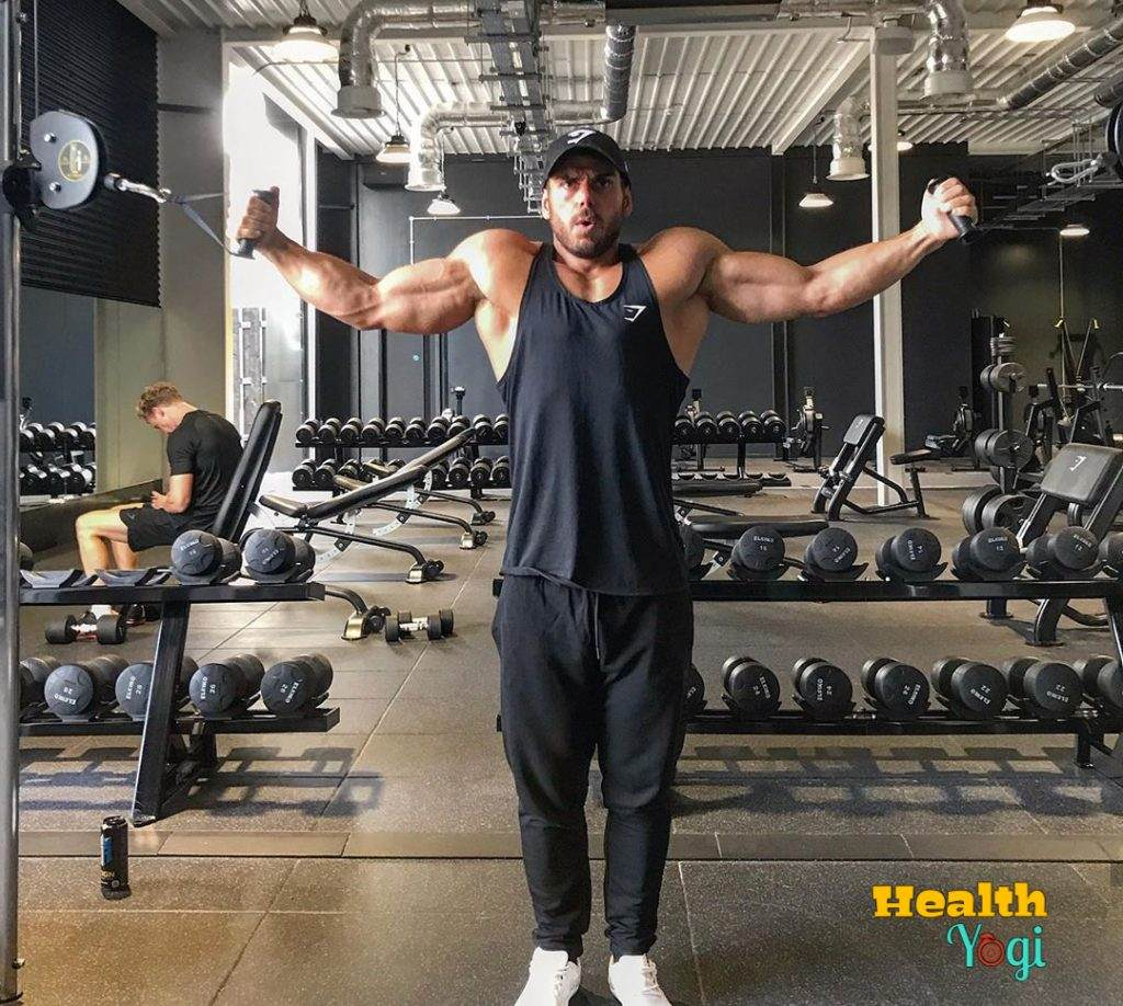 Ross Edgley Arms Exercises