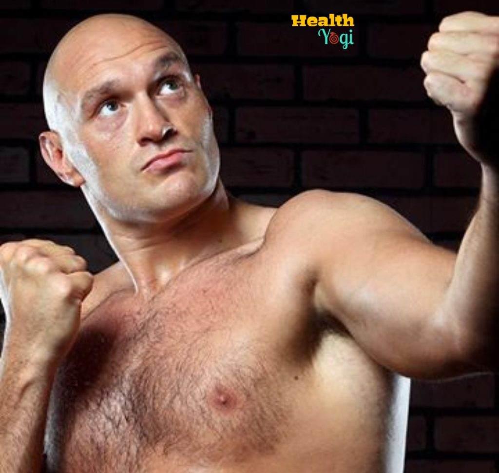 Tyson Fury Diet Plan
